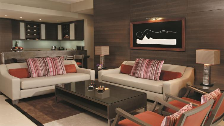 Living area at Park Arjaan Apartments