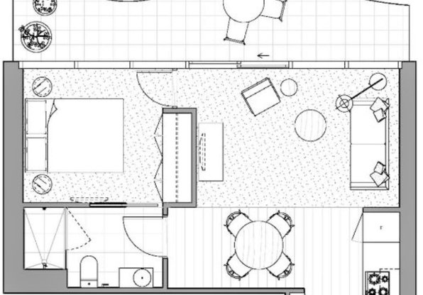 Layout at Rentality Emerald Apartments, South Melbourne, Melbourne