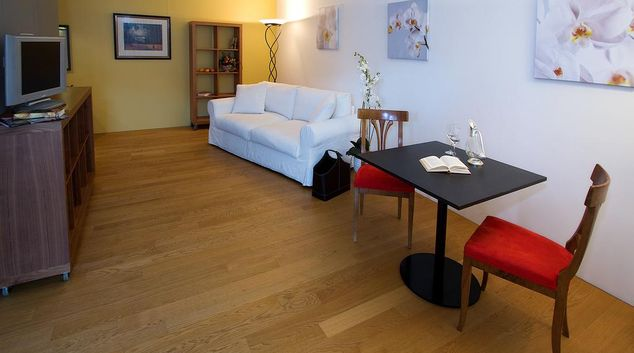 Living room at Muri Bei Bern Apart-Hotel