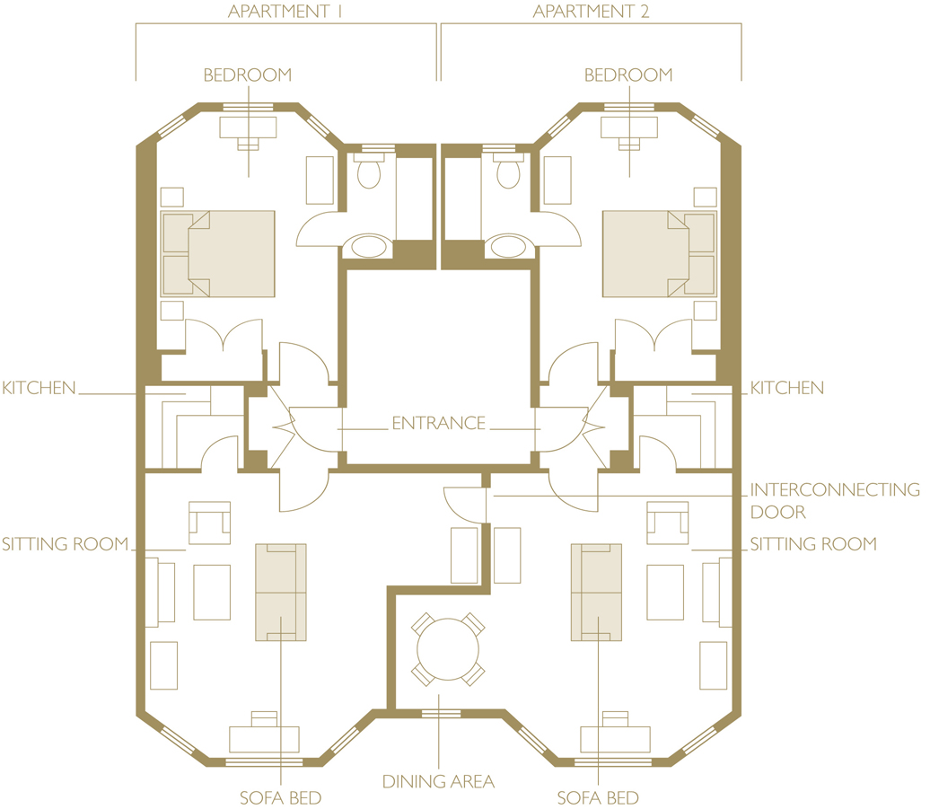 Floor plan at The Athenaeum