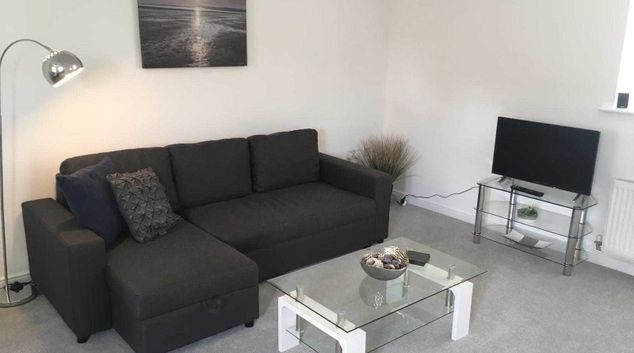 Lounge at Teeswater Apartment, Hamp, Bridgwater