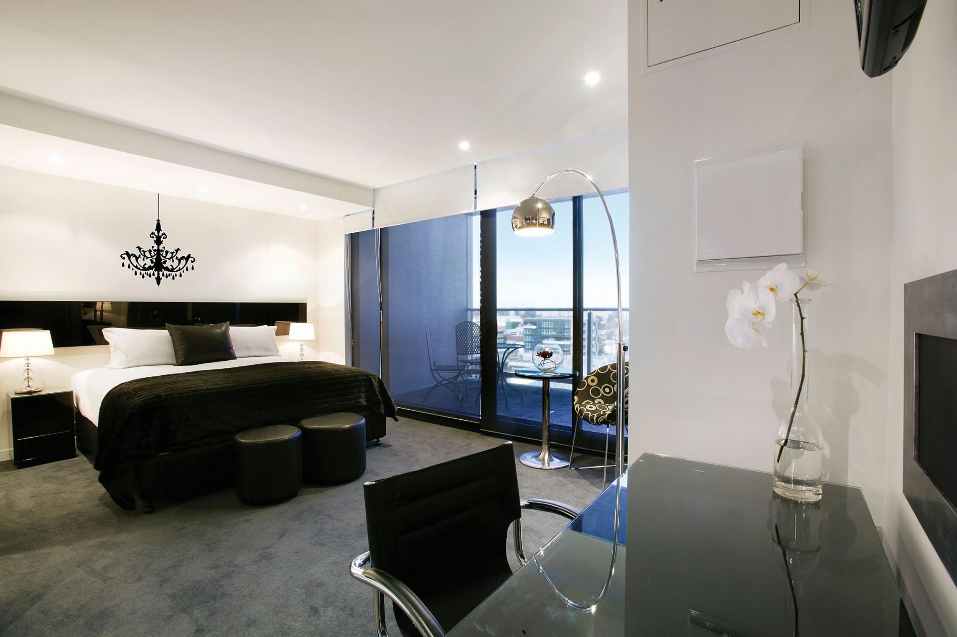 Bedroom at South Yarra Grand Apartments