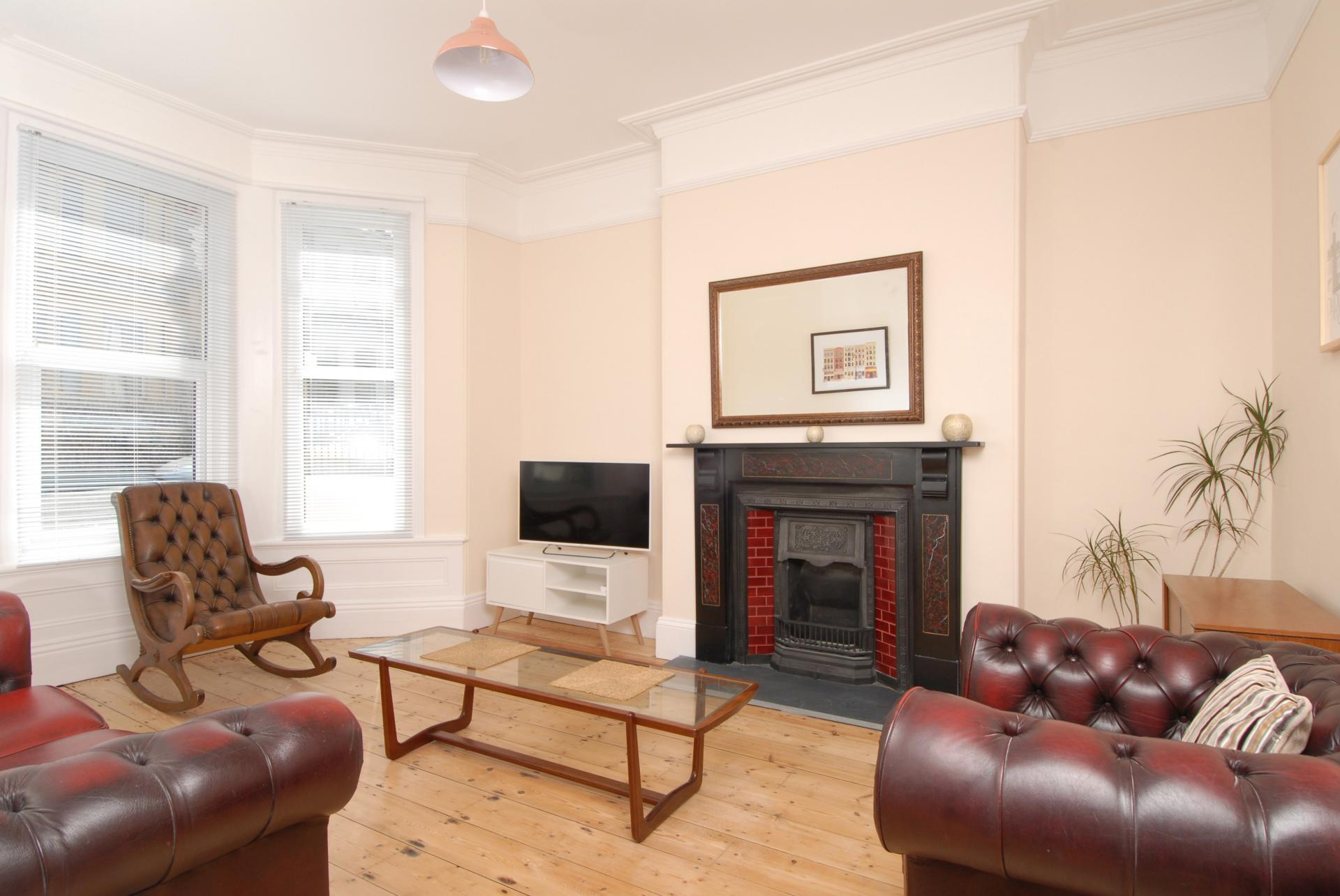 Living room at Derry House