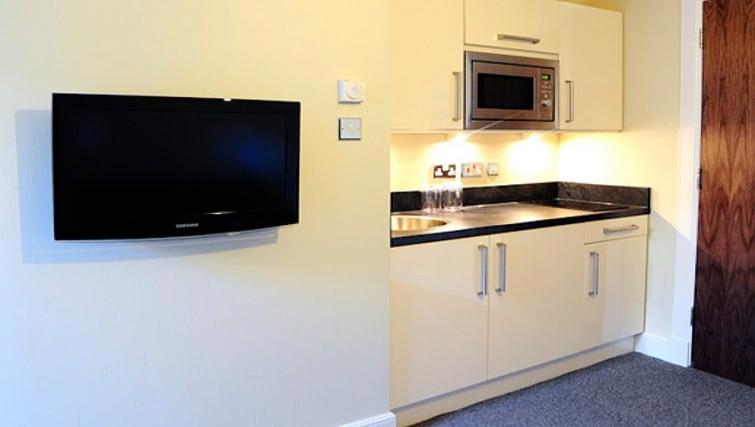 Small kitchenette in Windsor Park Apartments