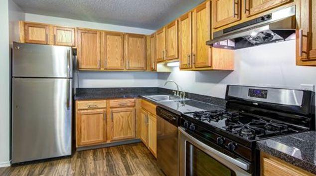 Kitchen at Avon Place Apartment
