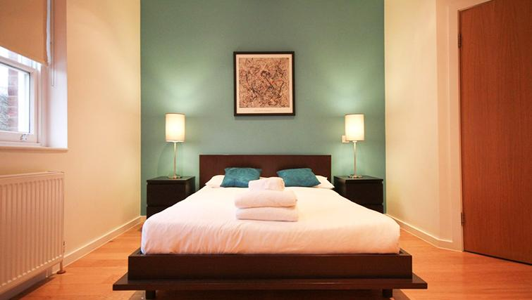 Beautiful bedroom at St James House