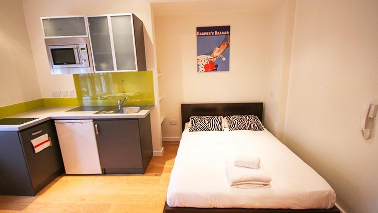 Open living area atSt James House