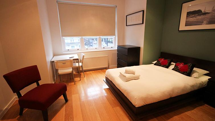 Cosy bedroom at St James House