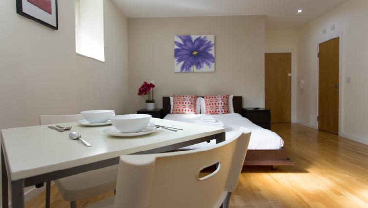 Dining area at St James House