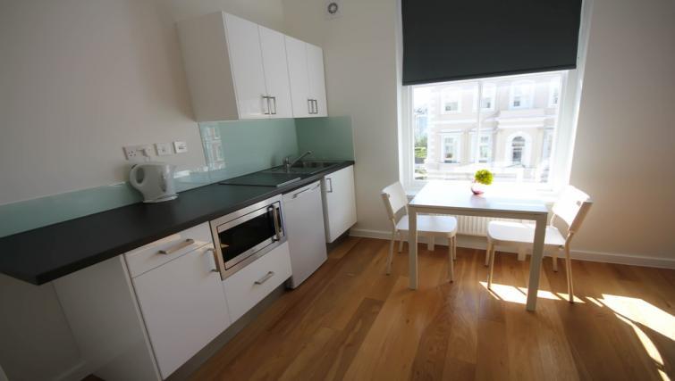 Double studio kitchen at Ladbroke Studios and Apartments