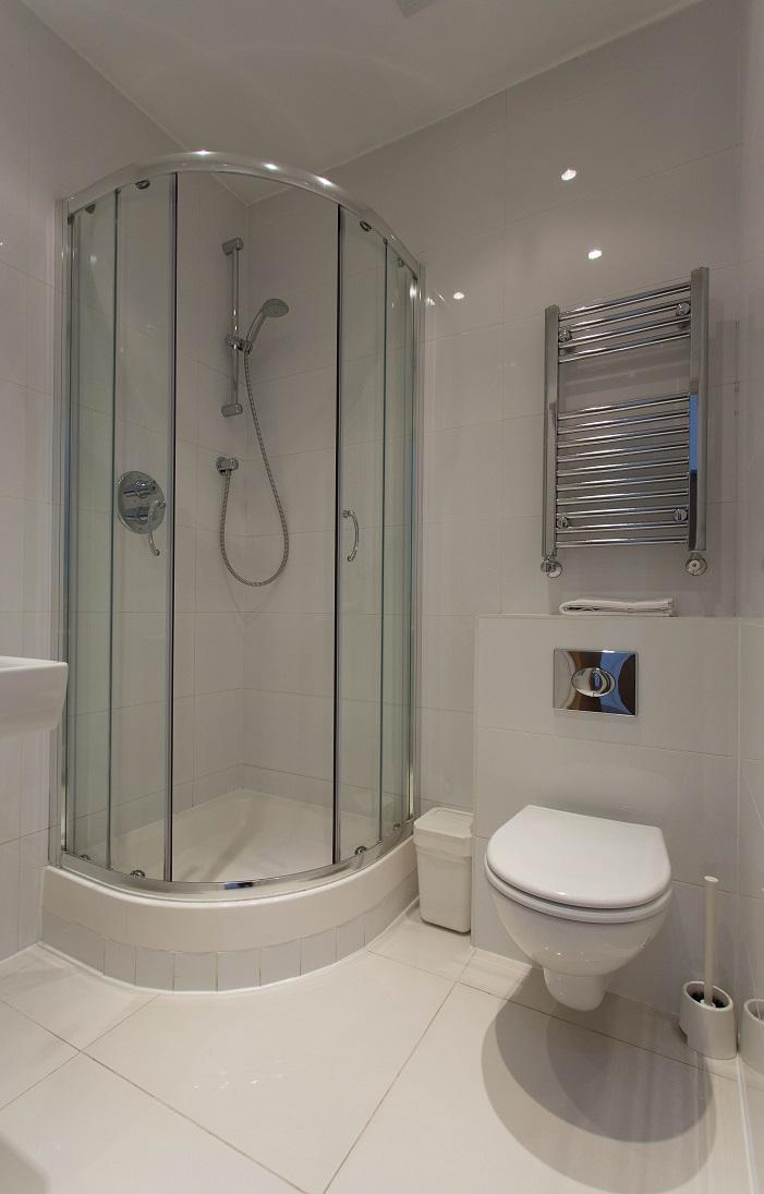 Shower at  Ladbroke Studios and Apartments