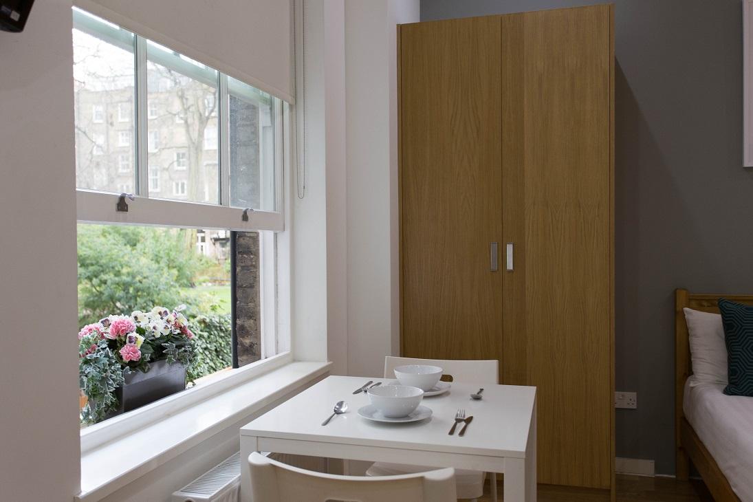 Table at  Ladbroke Studios and Apartments