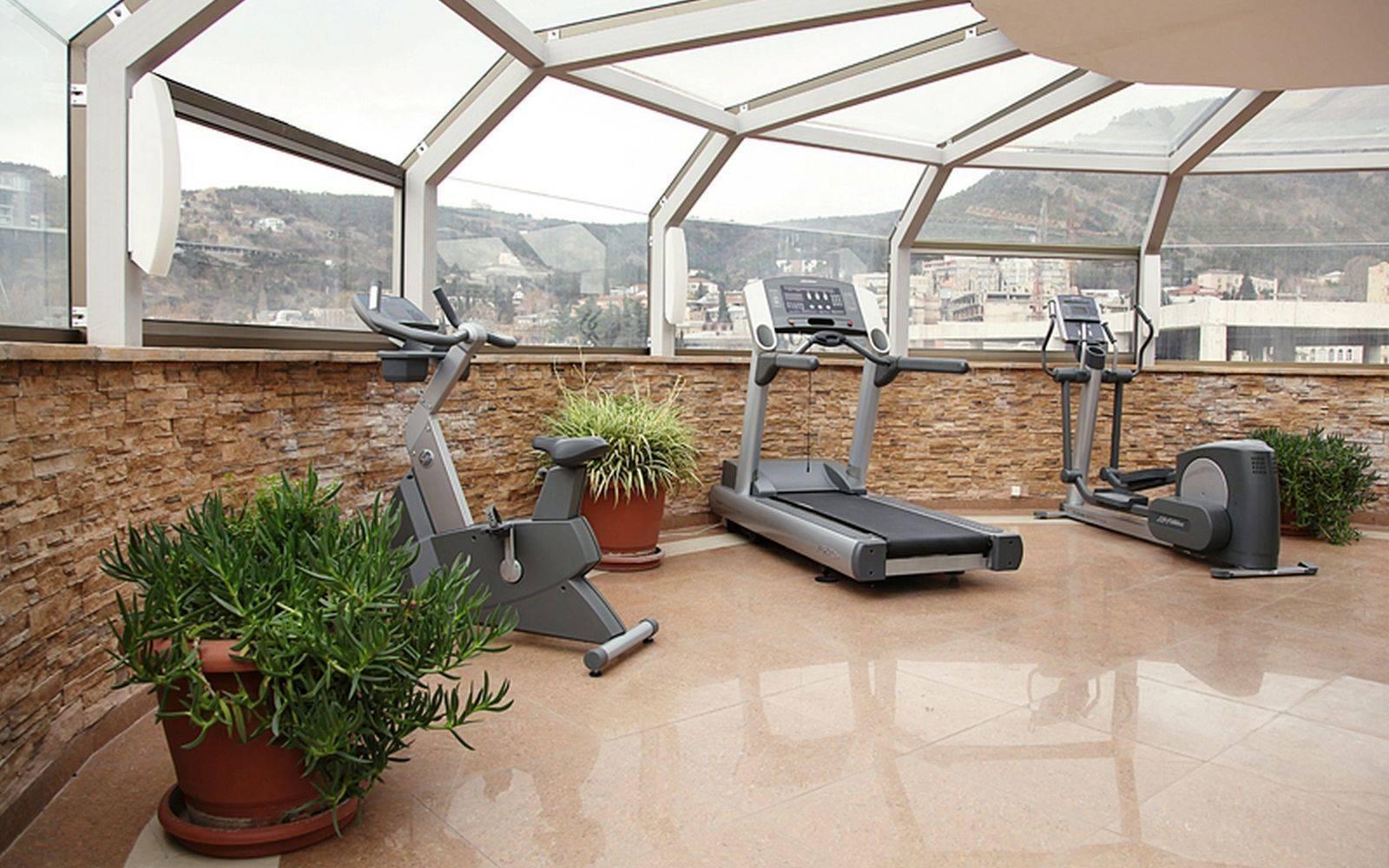 Gym at Citadines Freedom Square Apartments