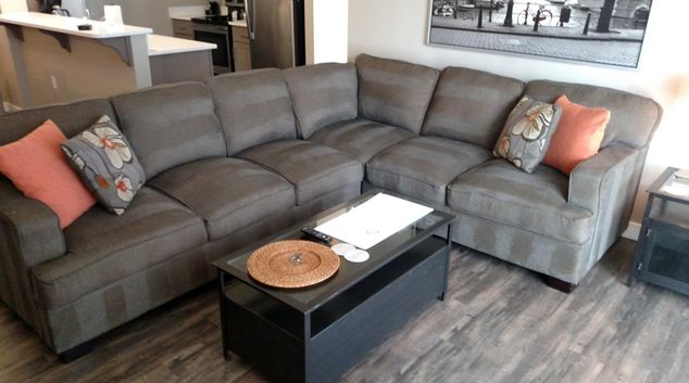 Living area at Franklin at Ten Mile Apartments, Centre, Meridian