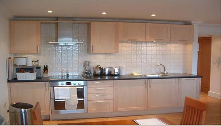 Smart kitchen in Manor House Apartments