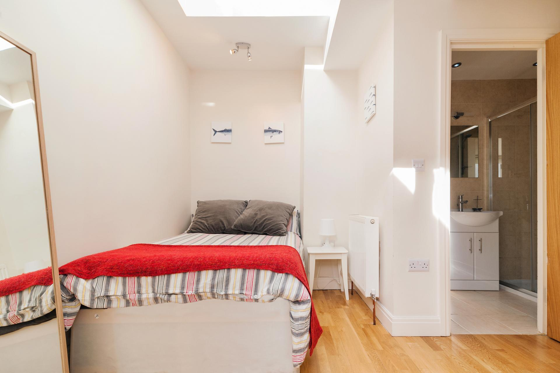 Bedroom at Angel Serviced Apartments