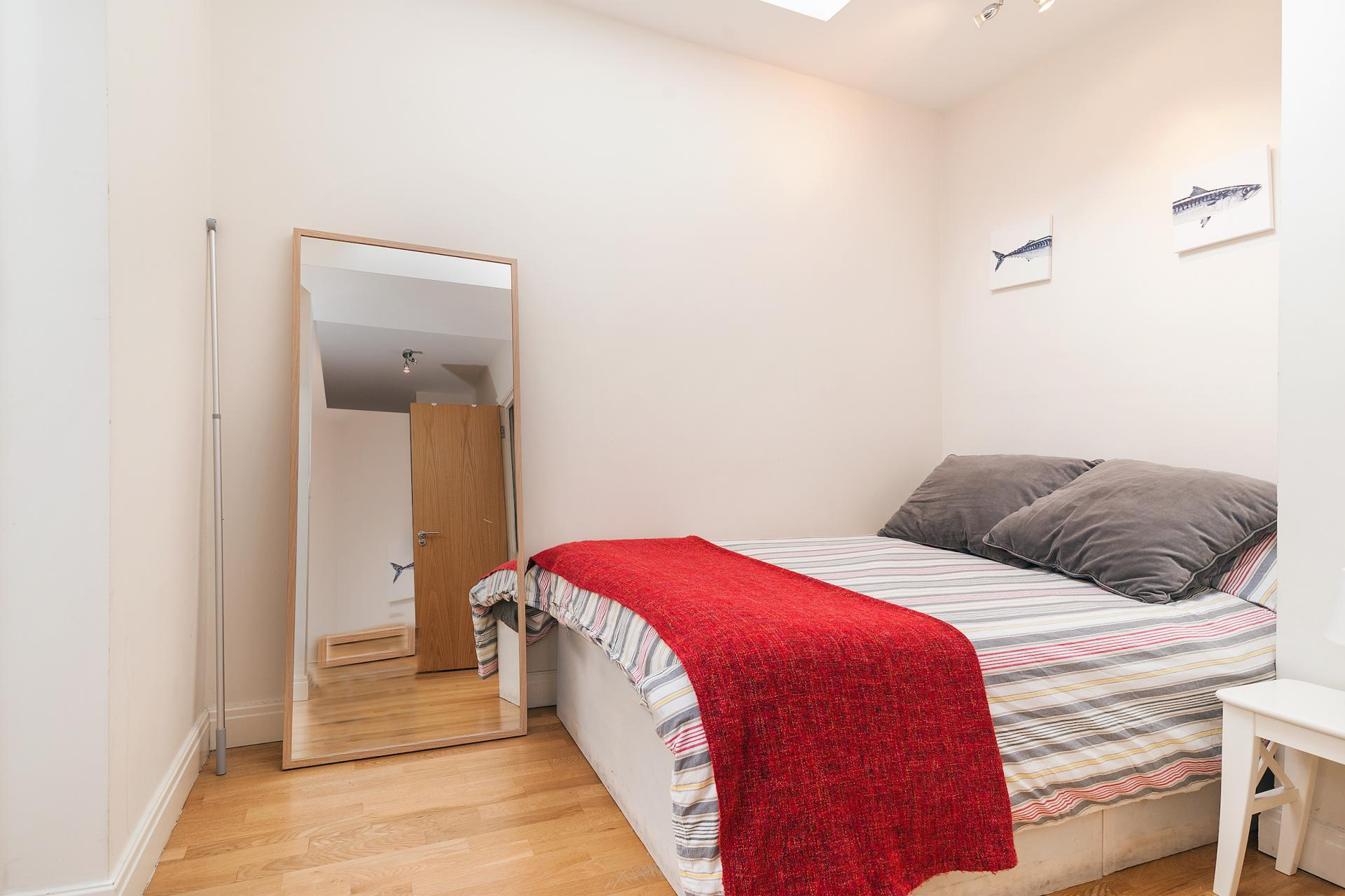 Bed at Angel Serviced Apartments