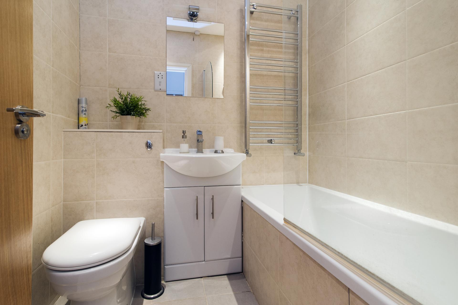 Bathroom at Angel Serviced Apartments