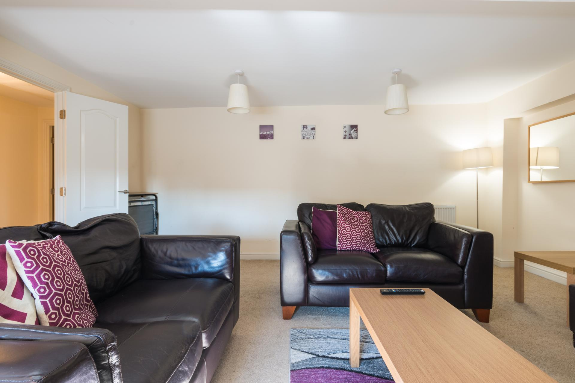 Sofas at Westlecot House Apartments