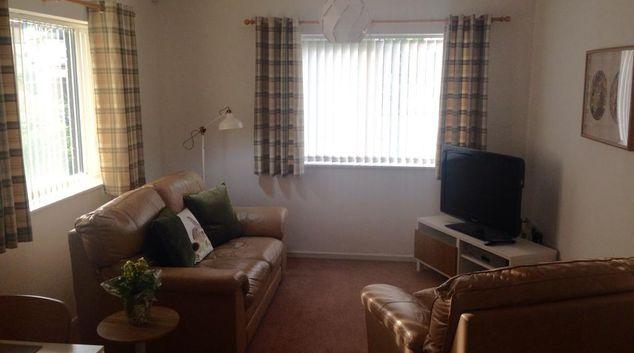 Living Room at Dutton Court Apartment