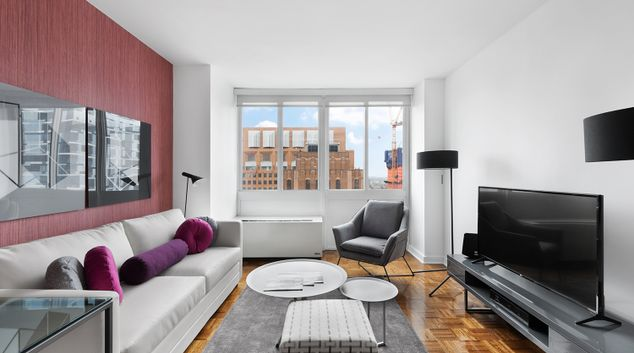 Living Room at The Brooklyner