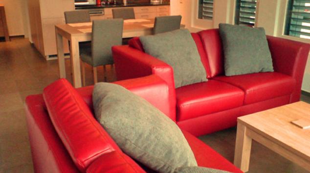 Living area at Grafena Apartment, Centre, Zug