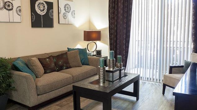 Lounge at Atera Apartment, Oak Lawn, Dallas