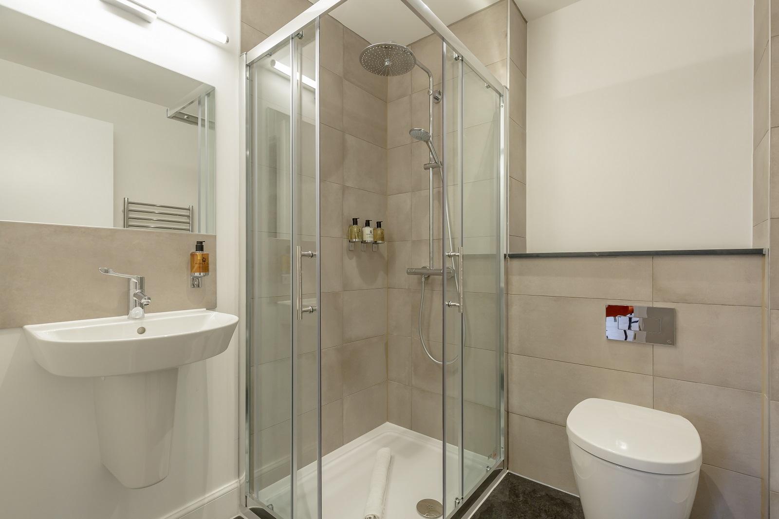 Bathroom at Hanover Serviced Apartments