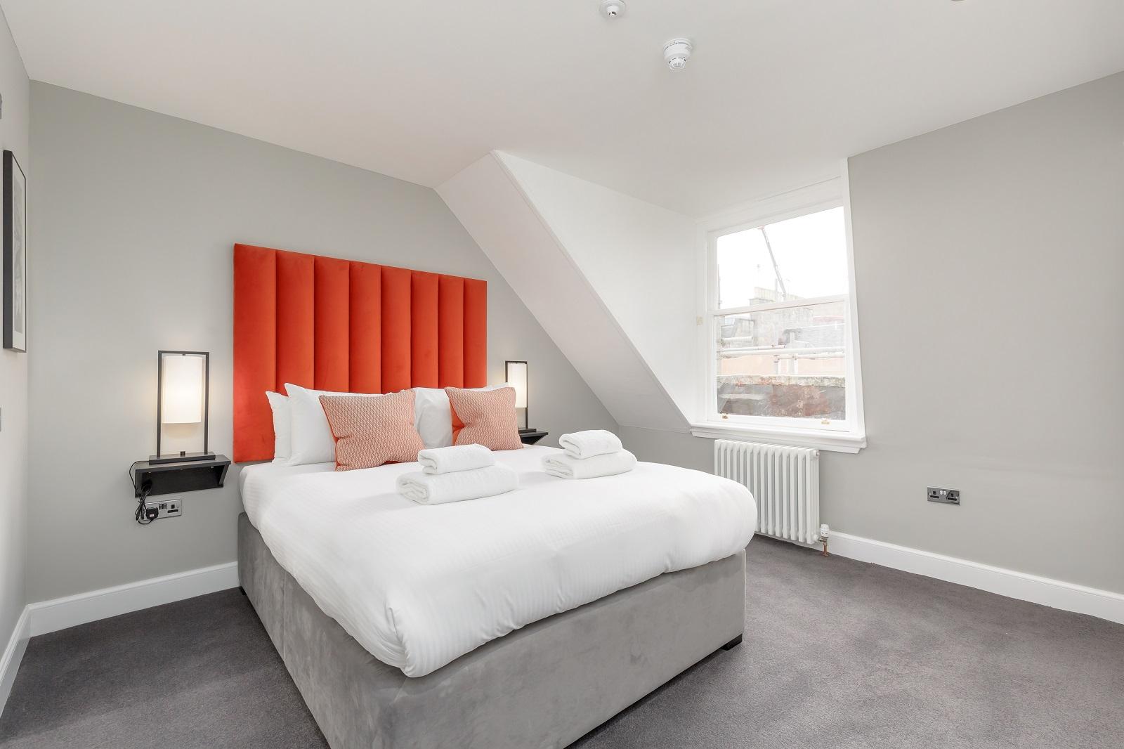Bedroom at Hanover Serviced Apartments