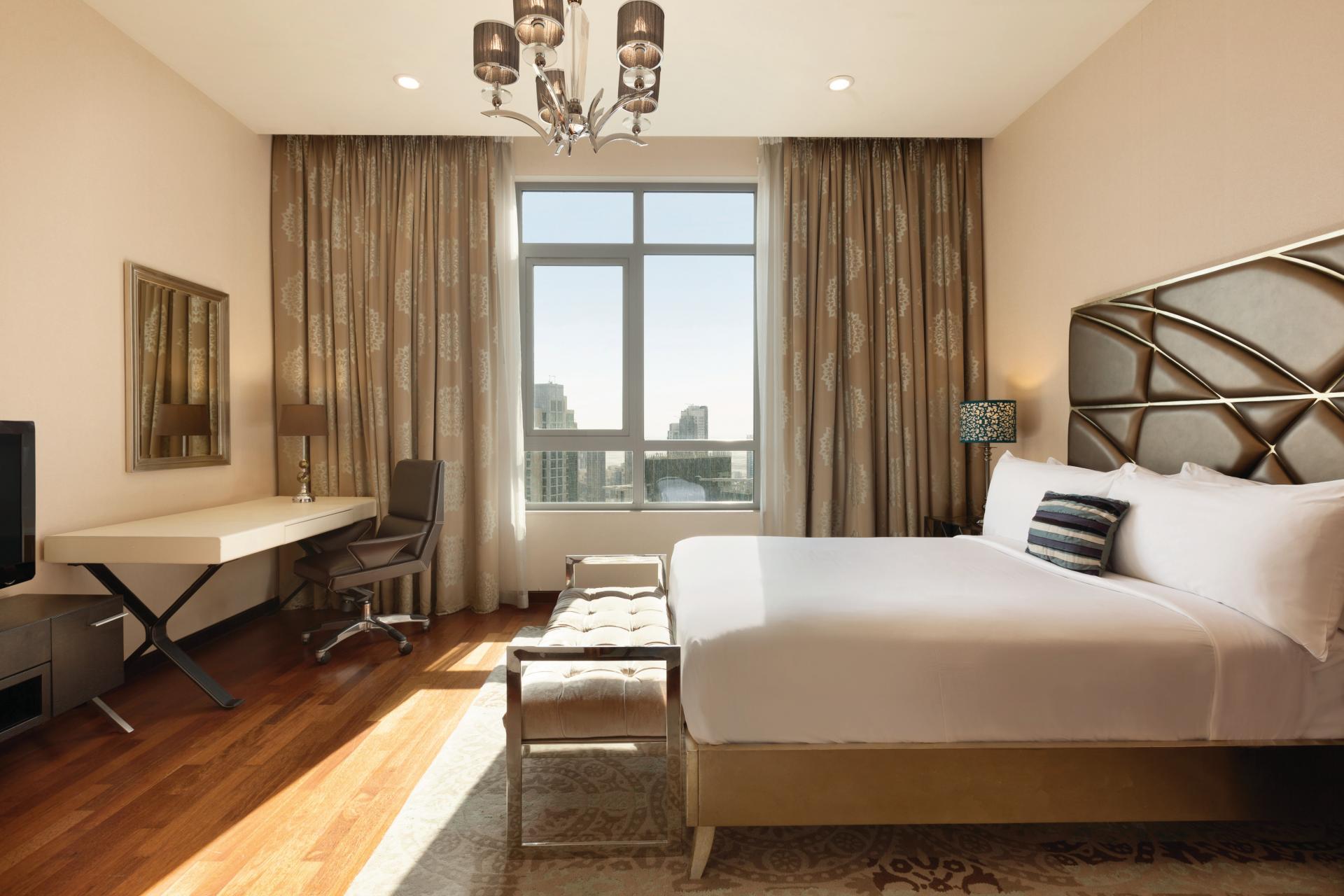 Bedroom at Ramada Downtown Dubai Apartments