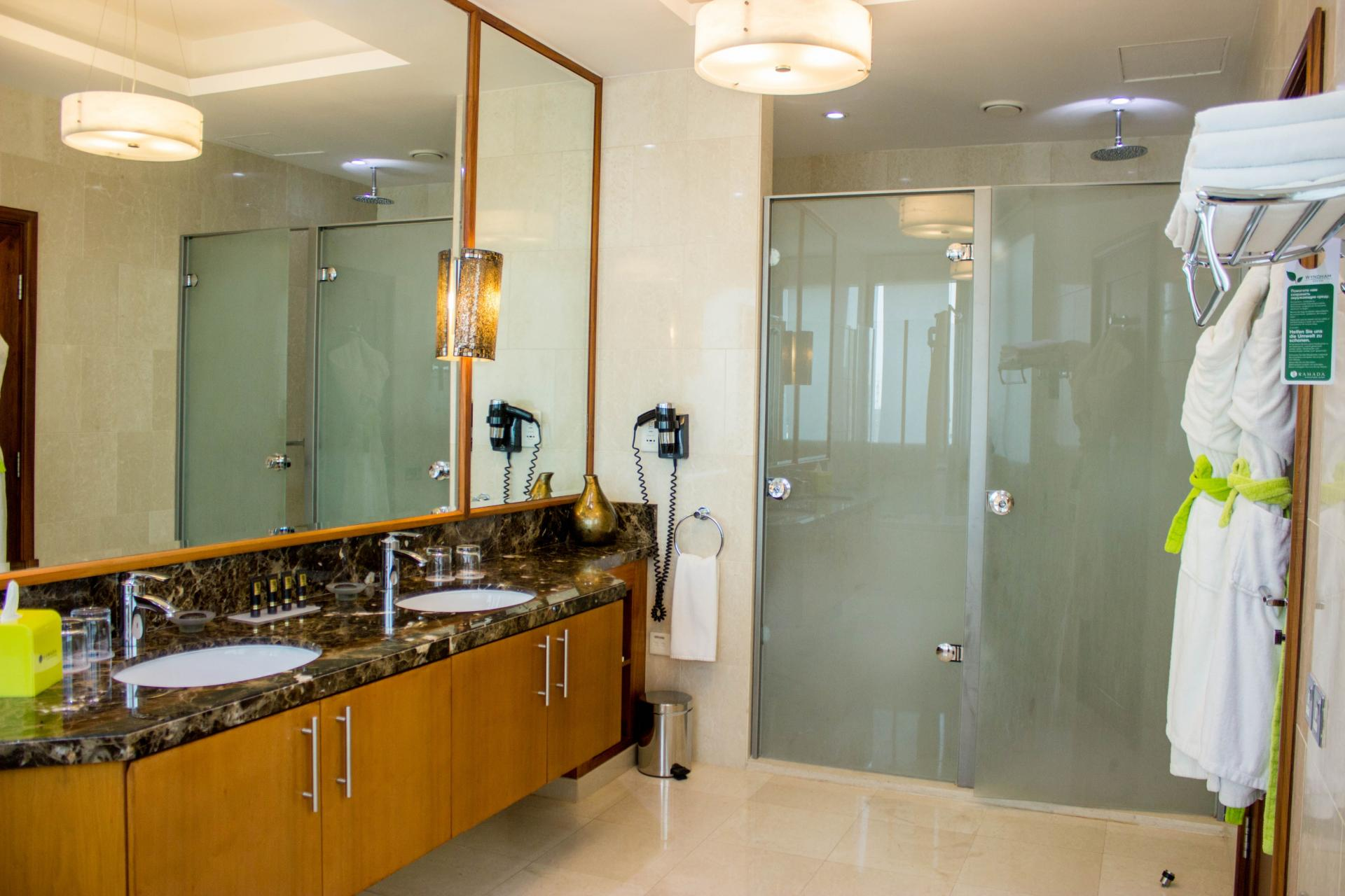 Bathroom at Ramada Downtown Dubai Apartments