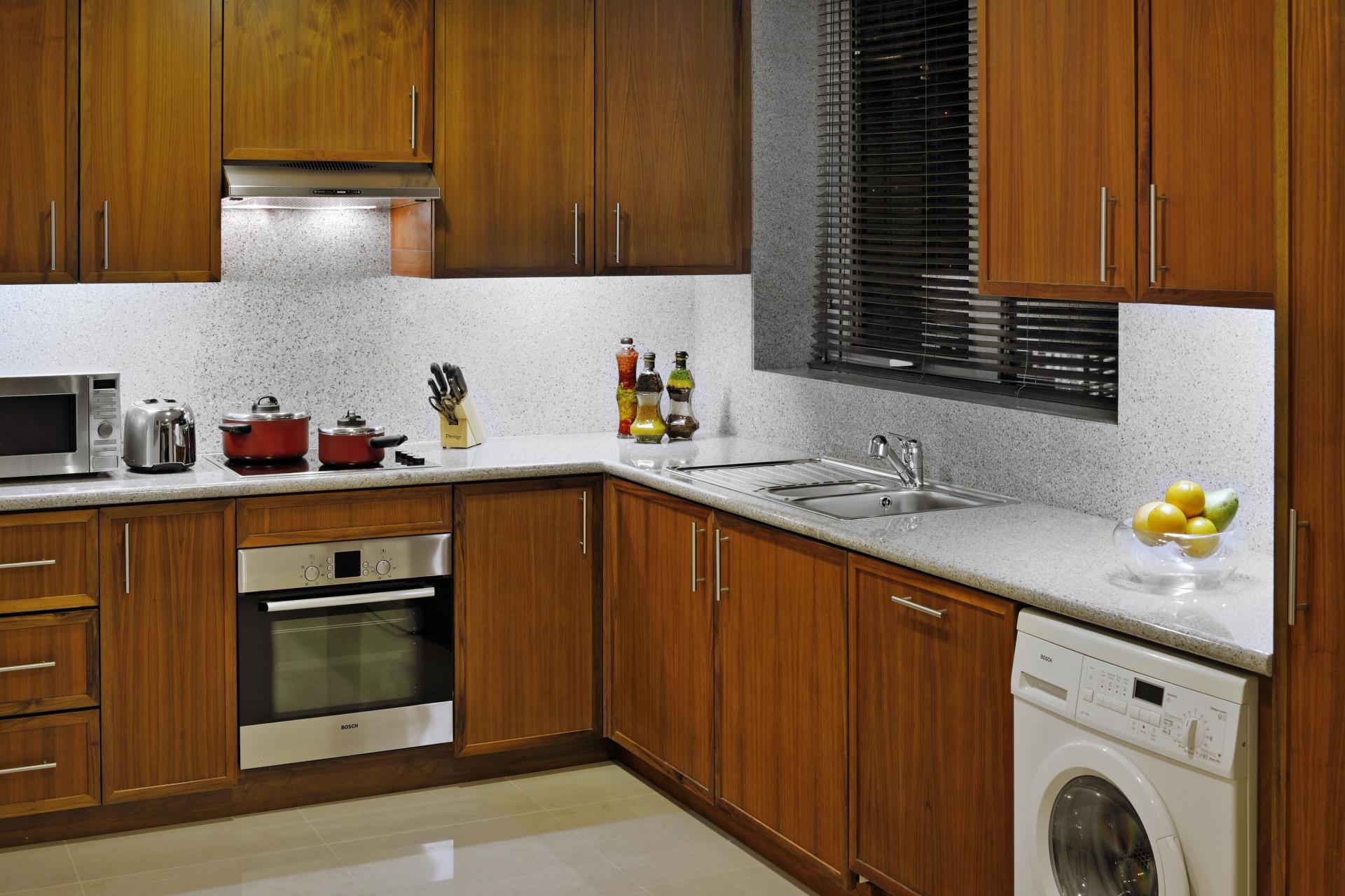 Oven at Ramada Downtown Dubai Apartments