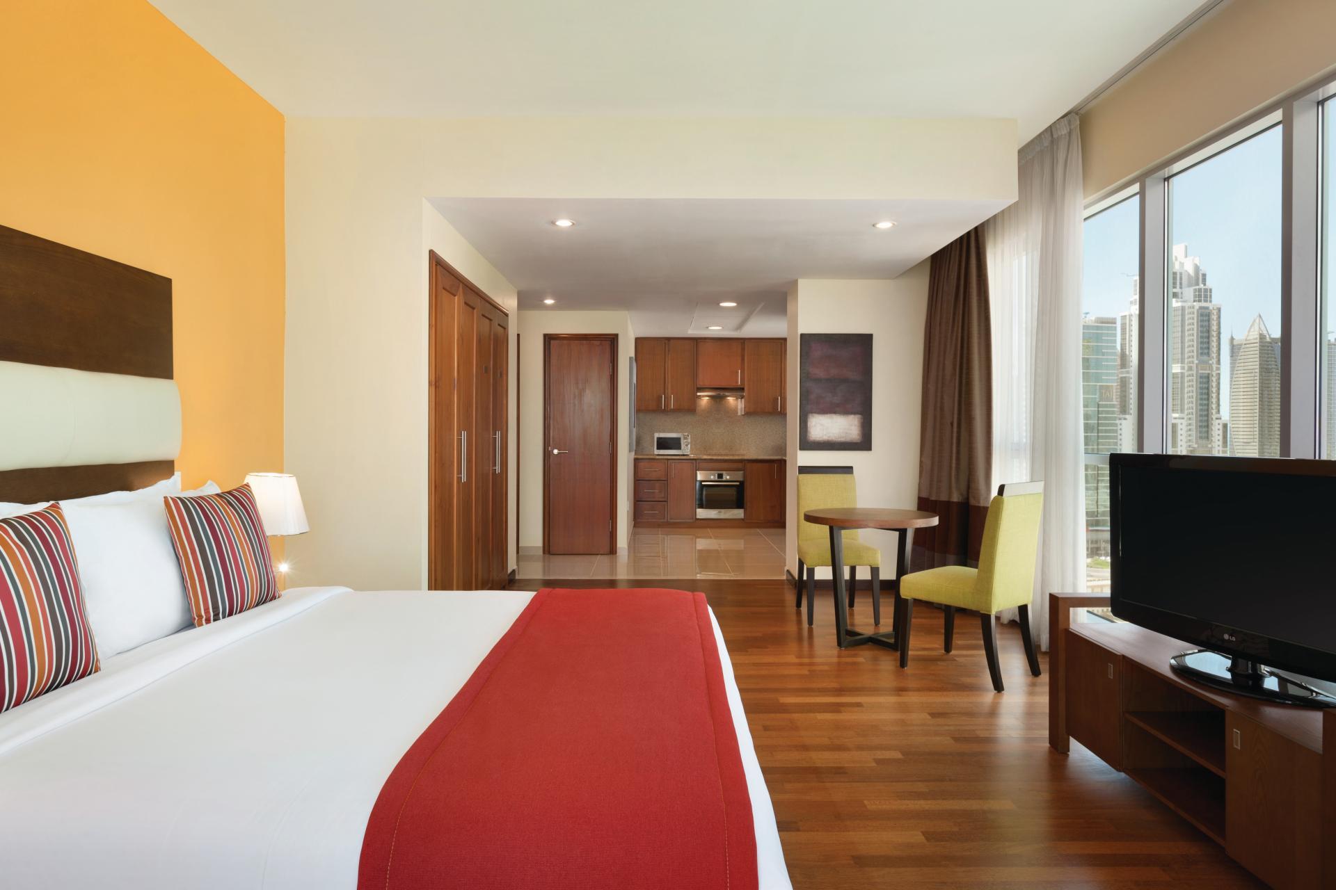 Bed Ramada at Downtown Dubai Apartments