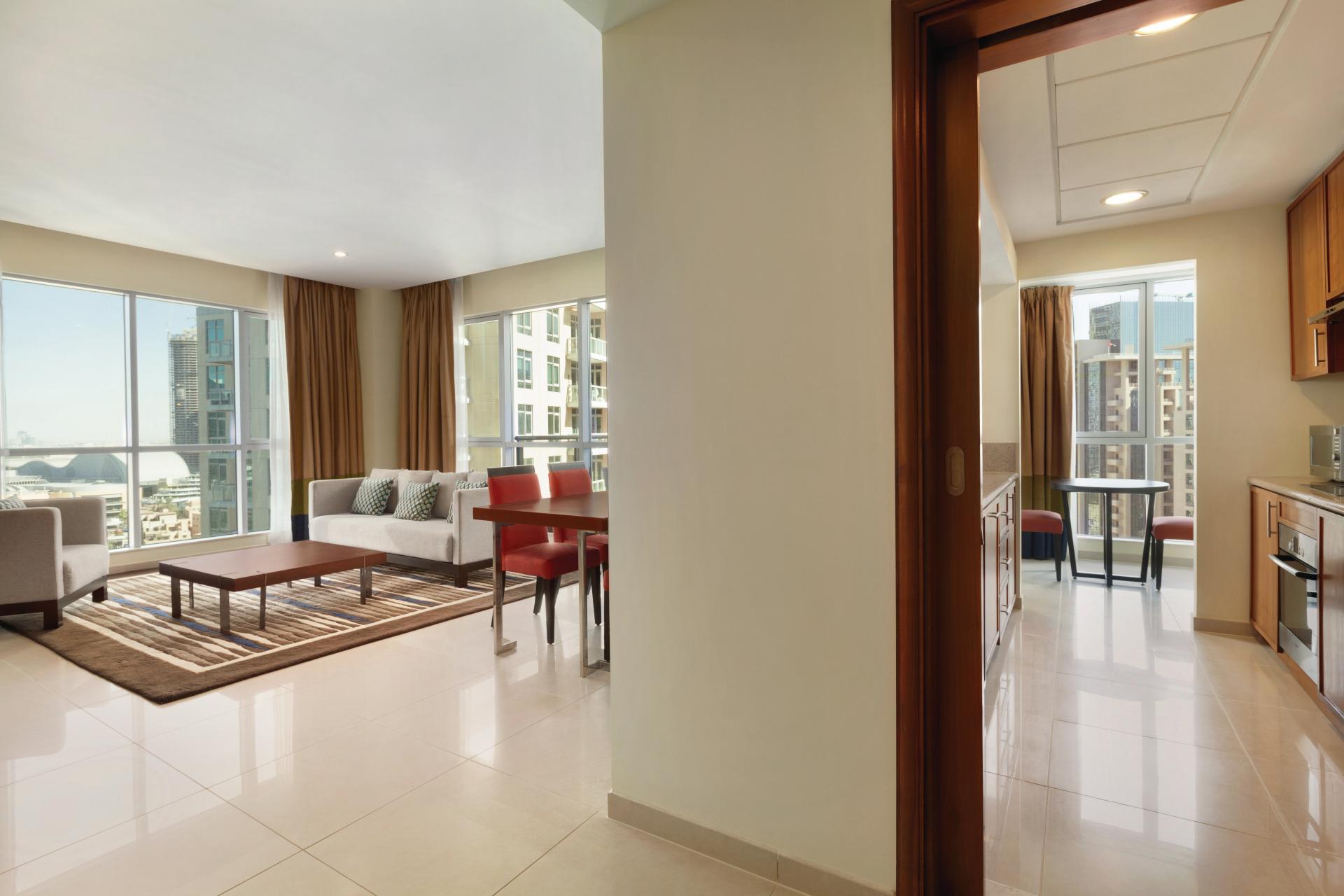 Layout at Ramada Downtown Dubai Apartments