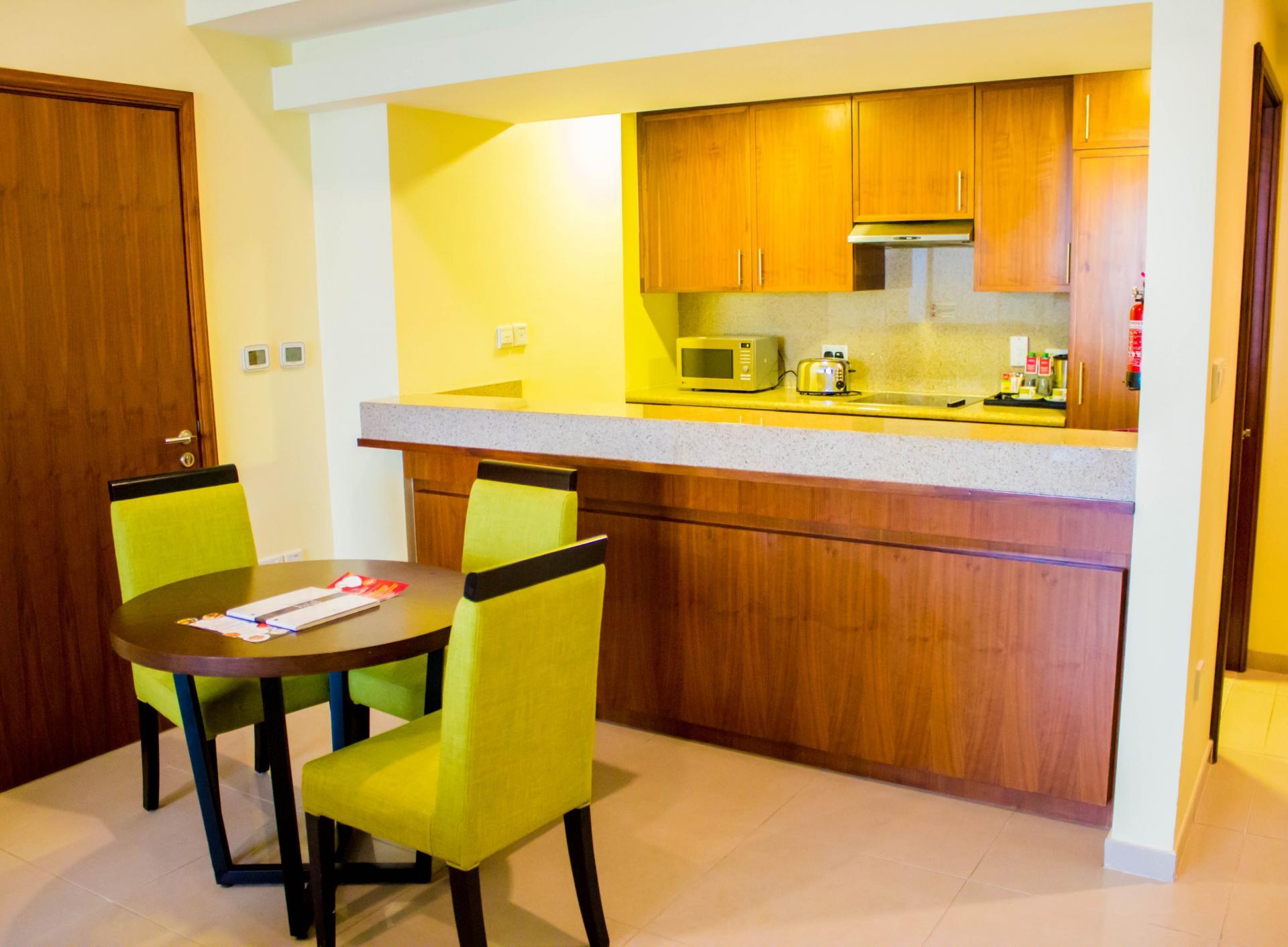 Dining table at Ramada Downtown Dubai Apartments