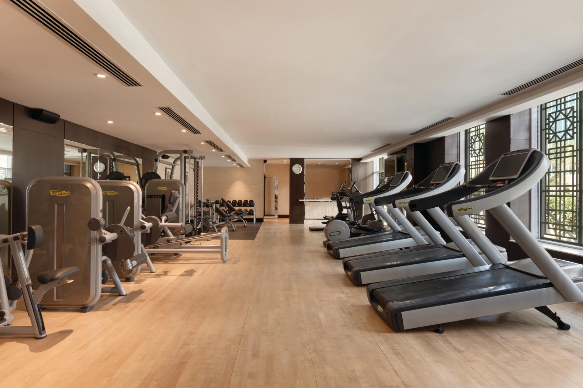 Gym st Ramada Downtown Dubai Apartments
