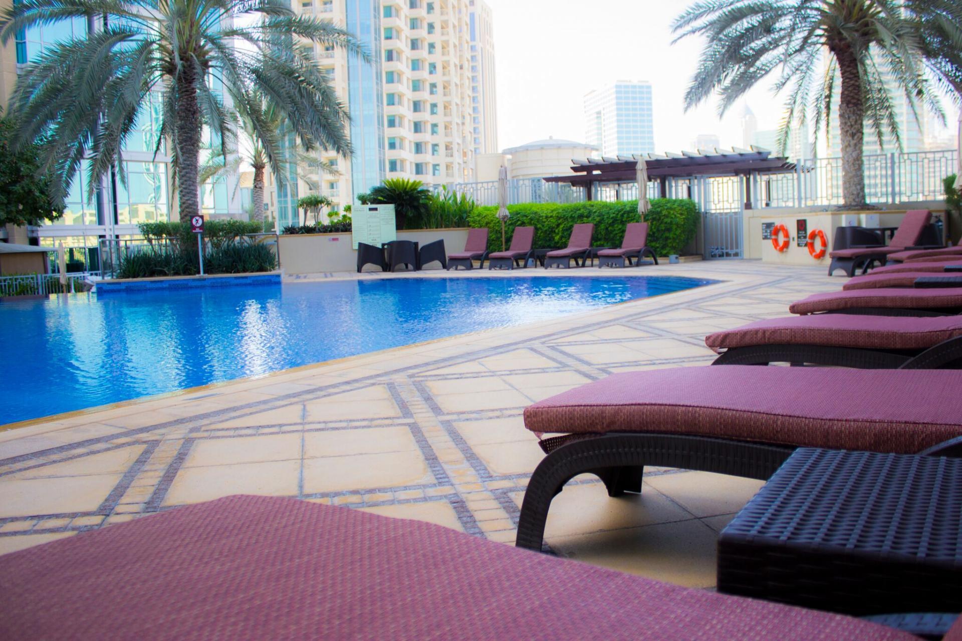 Pool at Ramada Downtown Dubai Apartments