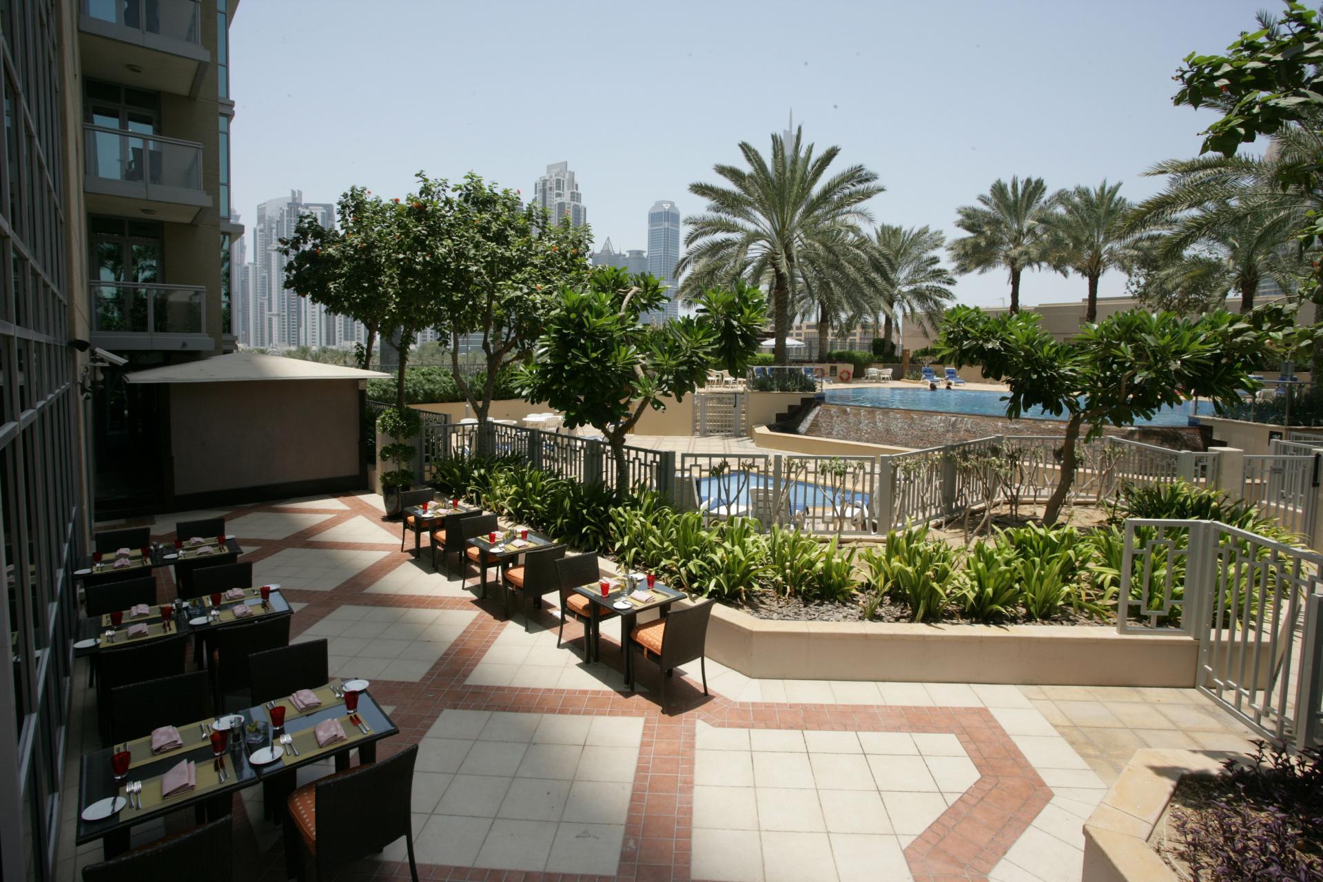 Restaurant at Ramada Downtown Dubai Apartments