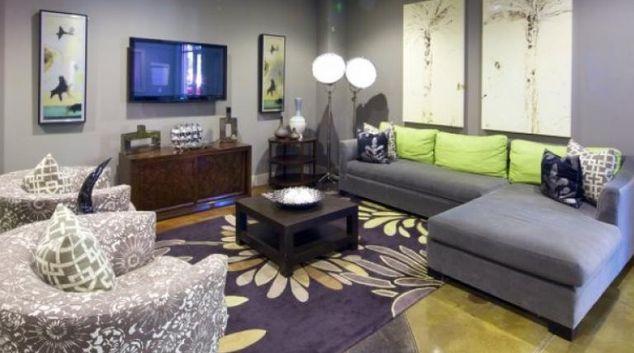 Living room at Allegro Apartment