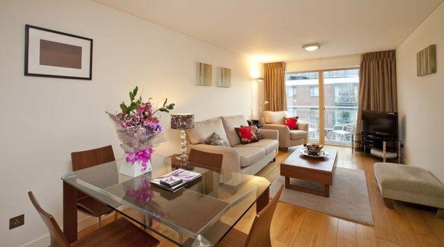 Living Room at Alexandra Walk Apartment