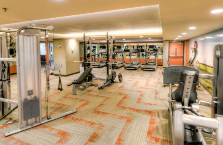 Gym at Harbour Steps Apartment, Centre, Seattle