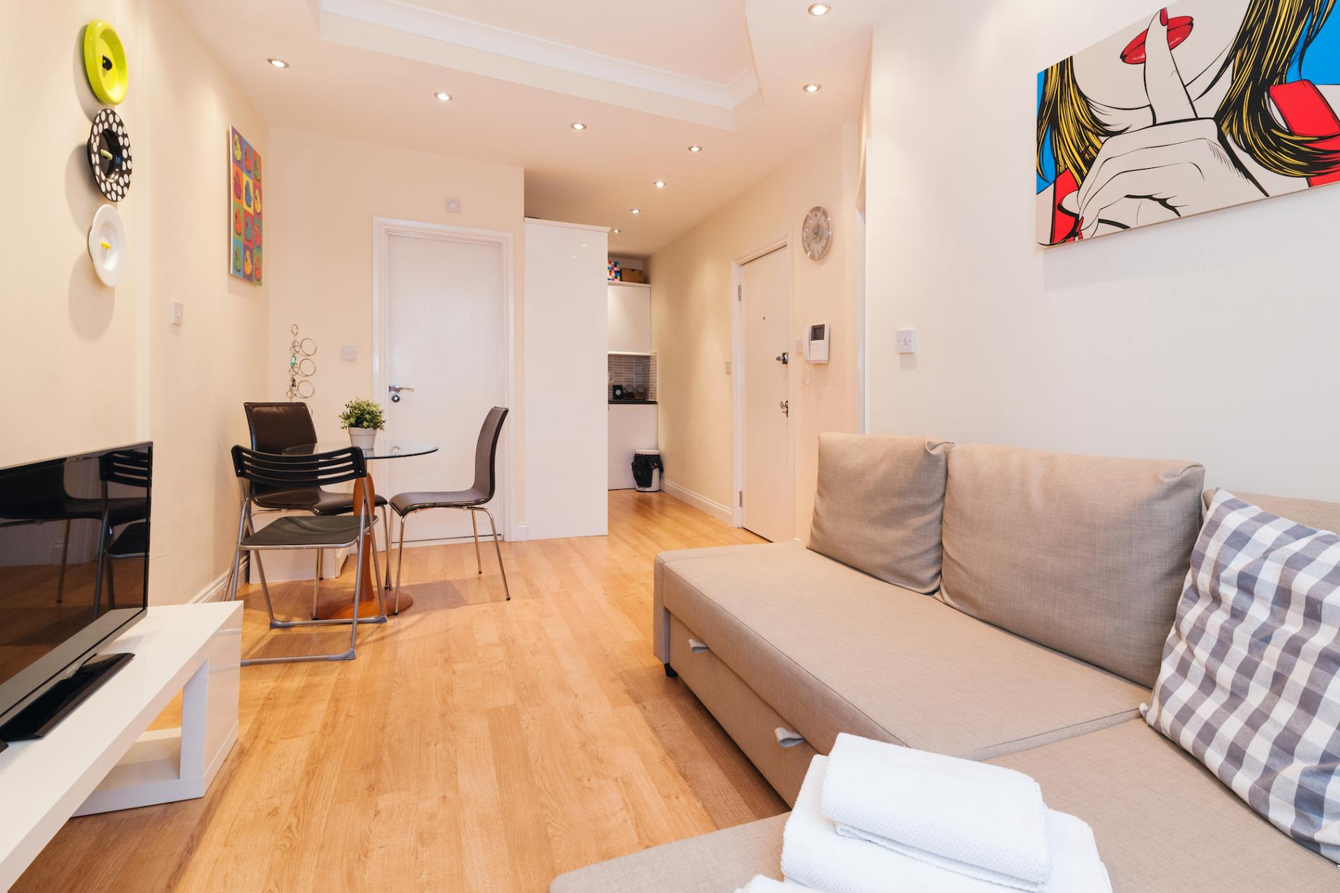 Layout at Kings Cross Corporate Accommodation