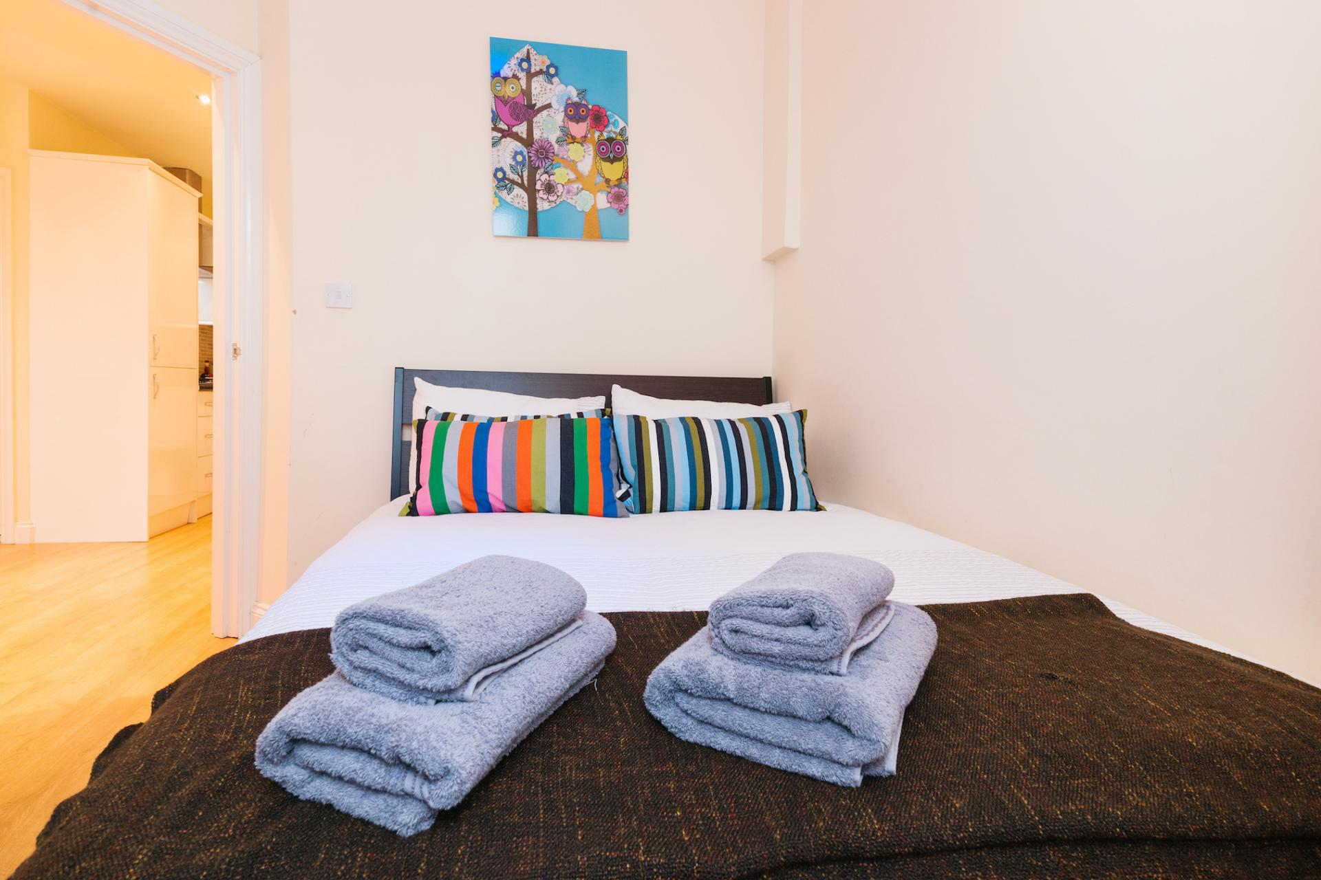 Bedroom at Kings Cross Corporate Accommodation
