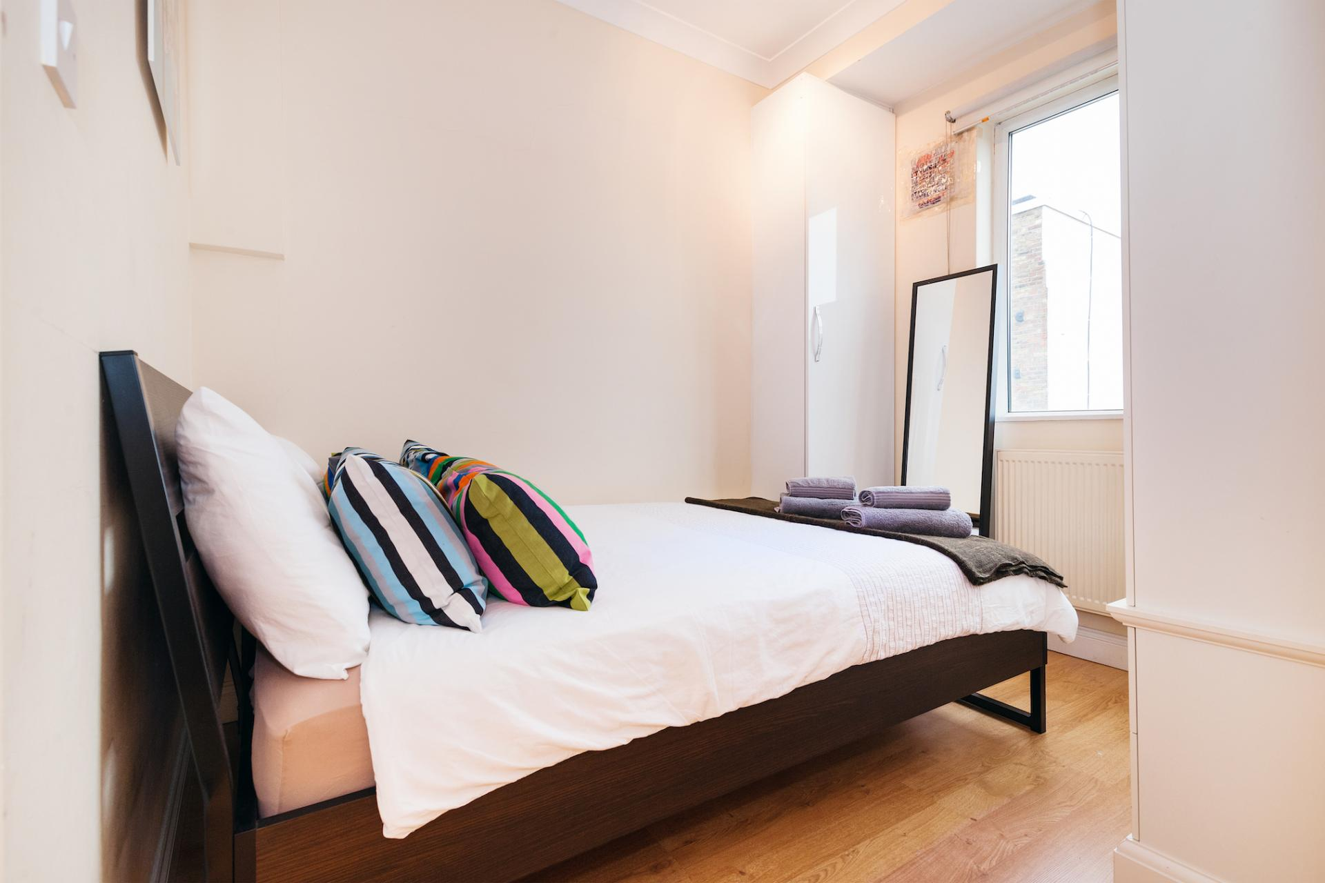 Bed at Kings Cross Corporate Accommodation