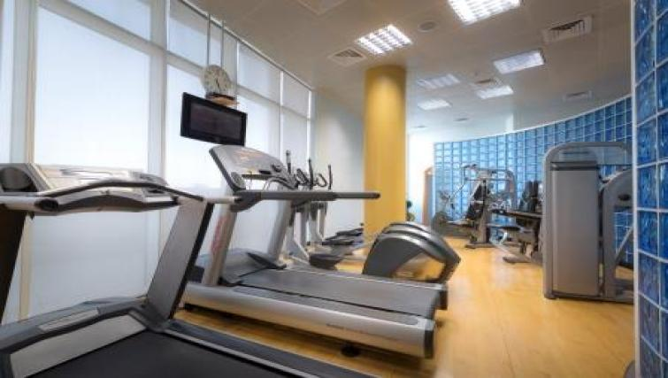 Gym at Vision Twin Towers