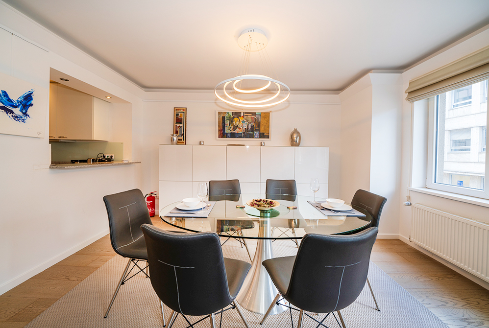 Dining Area at Rue Des Bains Apartment