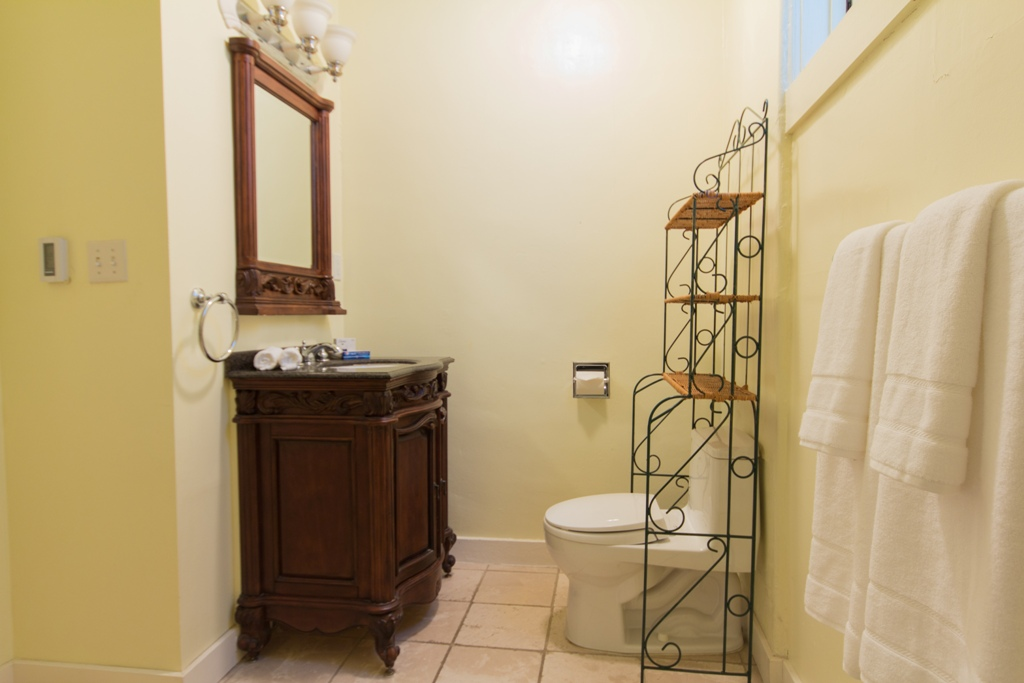 WC at Pacific Heights Victorian Apartment, Cow Hollow, San Francisco