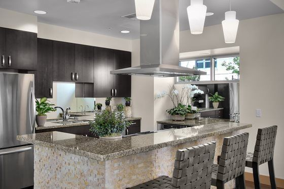 Communal Kitchen at Mission Bay Apartment