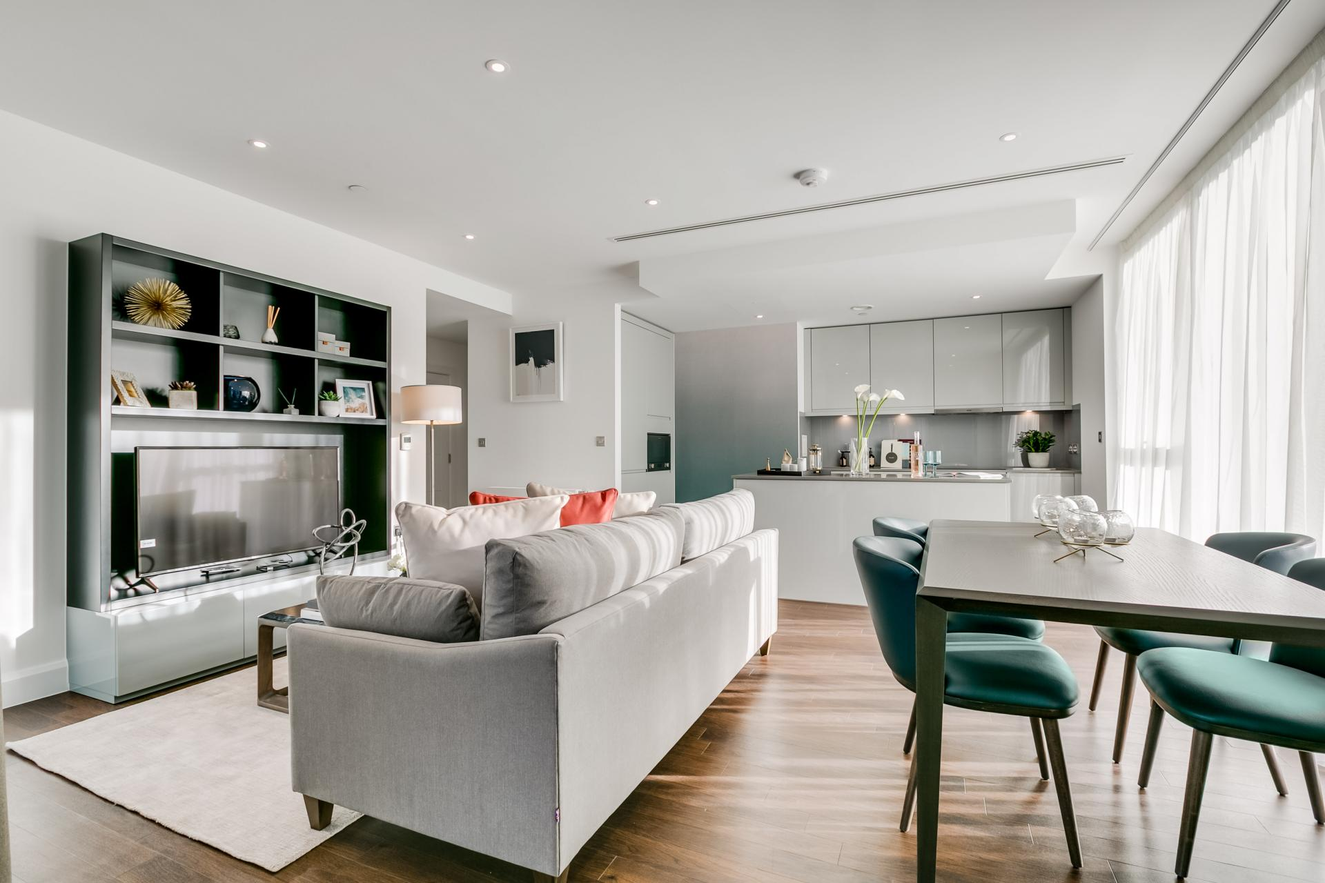 Open-plan at Sailmakers Apartments