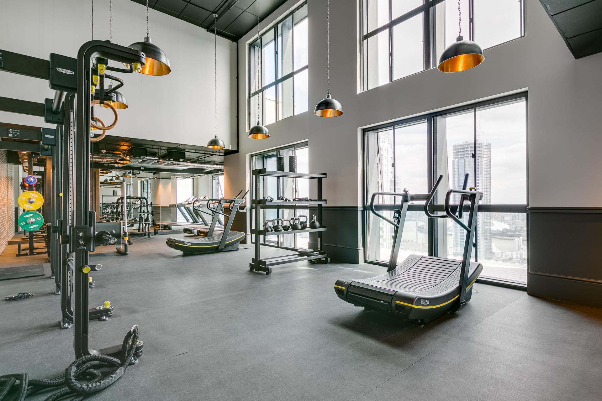 Gym at Sailmakers Apartments